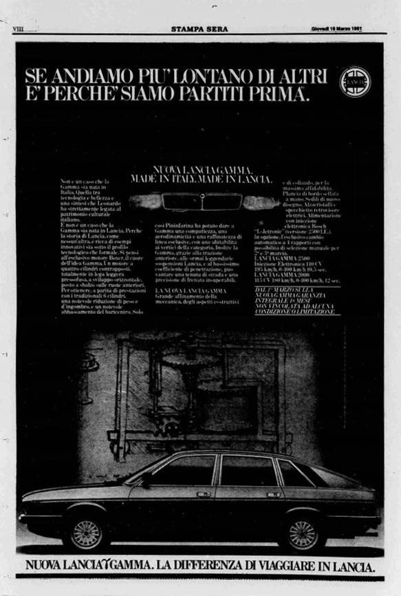 La Stampa Sera, 19 Marzo 1981
